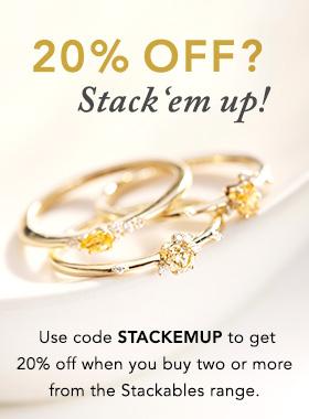 20% off stackables A