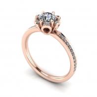 18KDiamond Engagement Ring