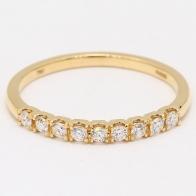 Dazzler White Diamond Wedding Ring