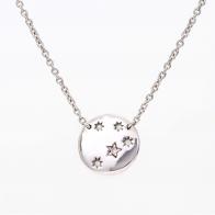 Southern Cross Argyle Pink Diamond Medallion Necklace