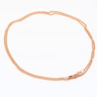 50cm 9 Karat Diamond Cut Curb Chain