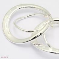 Freya Double Twist Hoop Earrings