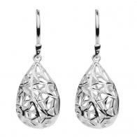 Pippa Teardrop cutout earrings