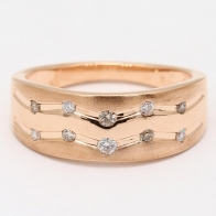 Trail Champagne Diamond Dress Ring