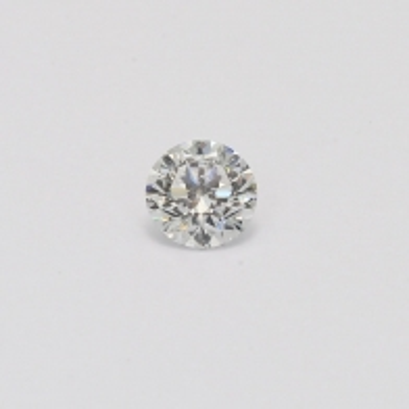 0.41 Carat Round Cut White Diamond