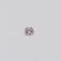 0.075 Carat Round Cut 6-7P Argyle Pink Diamond