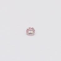 0.06 Carat round cut 6PR Argyle pink diamond
