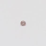 0.03 Carat Round Cut 5P Argyle Pink Diamond