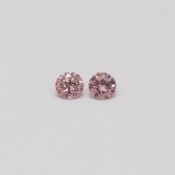 0.14 Carat Pair of Argyle Pink Diamonds