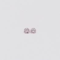 0.04 Total Carat Pair Of Argyle Pink Diamonds