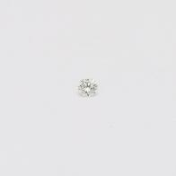 0.02 Carat Round Cut White Diamond