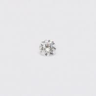 0.11 Carat Round Cut White Diamond