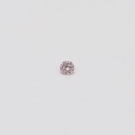 0.02 Carat Round Cut 6-7P/PP Argyle Pink Diamond