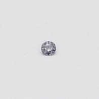 0.065 Carat Round Cut BL3 Argyle Blue Diamond
