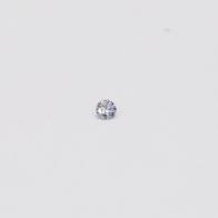 0.02 Carat Round Cut BL2 Argyle Blue Diamond
