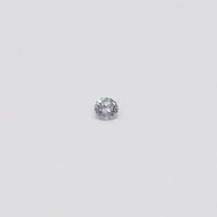 0.03 Carat Round Cut BL2 Argyle Blue Diamond