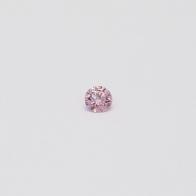 0.05 Carat Round Cut 6PP Argyle Pink Diamond