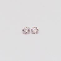 0.08 Total Carat Pair Of Argyle Pink Diamonds