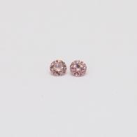 0.06 Total Carat Pair Of Argyle Pink Diamonds