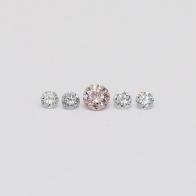 0.13 Total Carat Parcel Of Argyle Pink and Blue Diamonds