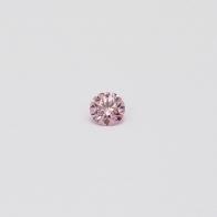 0.075 Carat Round Cut 6-7P/PP Argyle Pink Diamond