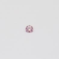 0.045 Carat Round Cut 6-7P/PP Argyle Pink Diamond