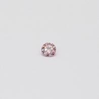 0.065 Carat round cut 6-7P/PP Argyle pink diamond