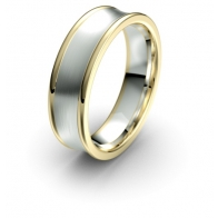 Quixote Concave Debonair Infinity Mens Ring
