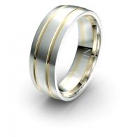 Turner Double Channel Debonair Infinity Mens Ring