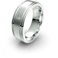 Raphael Banded Lustre Infinity Mens Diamond Ring