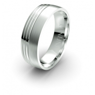 Jordan Triple Asymmetric Debonair Infinity Mens Ring
