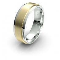 Stark Brushed Finish Debonair Infinity Mens Ring