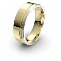 Windsor  Asymmetrical Debonair Infinity Mens Ring