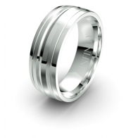 Gabriel Four Bar Debonair Infinity Mens Ring