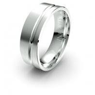 Norton Asymmetrical Debonair Infinity Mens Ring