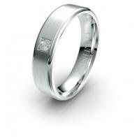 Thorn Brushed Finish Lustre Infinity Mens Diamond Ring