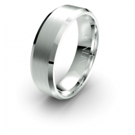 Rickman Brushed Finish Debonair Infinity Mens Ring