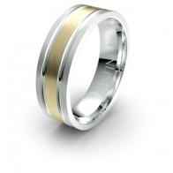Lucas Double Channel Debonair Infinity Mens Ring