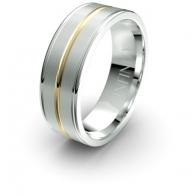 Diego Double Band Debonair Infinity Mens Ring