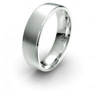 Hoult Brushed Finish Debonair Infinity Mens Ring