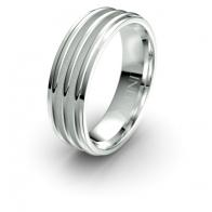 Reeves Triple Band Debonair Infinity Mens Ring