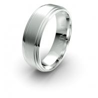 Flynn Contrast Finish Debonair Infinity Mens Ring