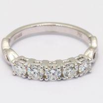 Boundless White Diamond Ring