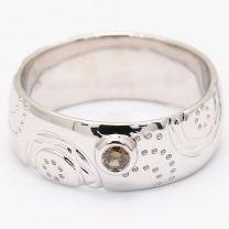 Oasis Champagne Diamond Kimberley Ring