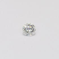 0.22 Carat Round Cut White Diamond