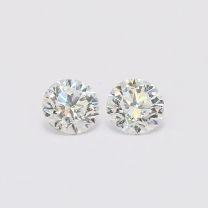 0.80 Total Carat Pair Of White Diamonds