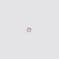 0.01 Carat Round Cut 6-7P Argyle Pink Diamond