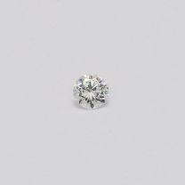 0.14 Carat Round Cut White Diamond