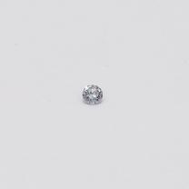 0.025 Carat Round Cut BL2 Argyle Blue Diamond