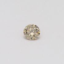 0.32 Carat Round Cut Champagne Diamond